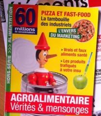 60 millions de consommateurs, agroalimentaire
